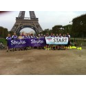 Cyclists tackle Paris to Jersey cycle for the Stroke Association
