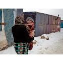 UNICEF trappar upp insatserna för att skydda barnen i Mellanöstern mot vinterkylan