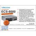 Fläktlös Vecow ECS-8000 med exceptionella prestanda och brett temperaturområde