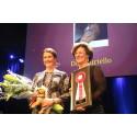 Tinne Vilhelmson Silfvén och Antonia Ax:son Johnson tog emot priset för Årets häst