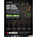 TeXtreme® enters racquetball through the Ektelon brand