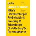 """Omslag """"Berlin - stadsdel för stadsdel"""""""