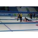 Curlingdamerna femma i Universiaden - studentidrottens motsvarighet till OS