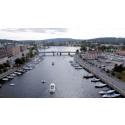 Norra inloppet med Nybron och Nattviken