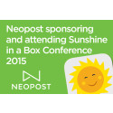 Neopost sponsoring and attending Sunshine in a Box Conference 2015