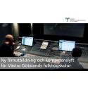 Ny filmutbildning och kompetenslyft för Västra Götalands folkhögskolor