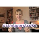Mel Giedroyc supports the Stroke Associaton 'Give a Hand' campaign