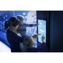 Information om fisk på digitale skilte