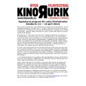 Uppdaterat program för ryska filmfestivalen KinoRurik (11 – 13 april 2014)