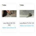Weber further expands its range of Weber Leca® blocks as BIM objects.