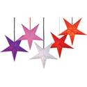 Textilsladd med lamphållare-frilagd,blandade stjärnor,1