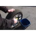 Otvättade vinterdäck kan ge sämre väggrepp nästa vinter