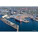 Klartecken för längre containerfartyg i Helsingborgs Hamn