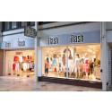 Ny öppningsdag för Flash-butiken efter renovering