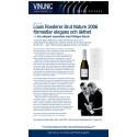 Press release Louis Roederer Brut Nature 2006