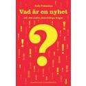Årets första bok: Vad är en nyhet?