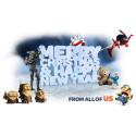 GOD JUL & GOTT NYTT ÅR önskar vännerna på Universal Sony Pictures