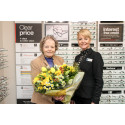 ​Representative of the Macular Society Is Guest of Honour at Amesbury Vision Express Opening