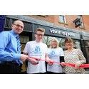 Eye cancer teen cuts ribbon to unveil new Vision Express store in Chesterfield