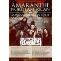Amaranthe Tour Flyer