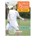 Dreams Tennis advertising campaign - Summer 2015