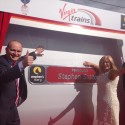 Flagship Virgin Trains Pendolino named in honour of Stephen Sutton