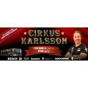 Cirkus Karlsson kommer till XL-BYGG Nynäshamn 14/9