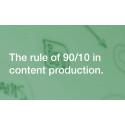 Marknadsföring B2B och 90:10 regeln – fortfarande en sanning men med nya spelregler.