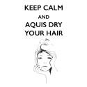 Håret torrt på nolltid med revolutionerad Aquis hårhandduk