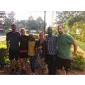 Andreas, Julia, Ann, Josefin, David och Pär