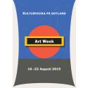 Gotland Art Week - affisch 2015