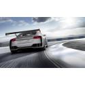 Audi TT clubsport turbo silver grey rear dynamic
