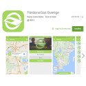 FordonsGas Sverige lanserar egen app!