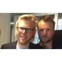 Fredrik och Mikael gästade Ledarkanalen