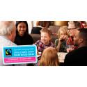 Över 8000 fikar Fairtrade i Gävleborgs län på torsdag