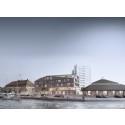 Moderne pakhus på Havnetrekanten i Horsens