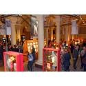 Invigning av årets Nobelmuseets bokbandsutställning den 17/4 kl. 17.00