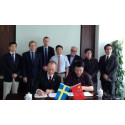 Press photo: Plantagon International and Tongji University, Shanghai, signs Memorandum of Understanding