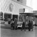 Farsta centrum. Foto: Herbert Lindgren, 1962.