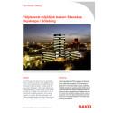Välplanerat miljötänk bakom skyskrapa  i Göteborg