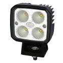 Den rostfria arbetsstrålkastaren Hella Q90 LED