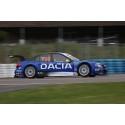 Tuff STCC-helg för Dacia Team Sweden