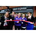 ​Local Stroke Survivor Officially Opens Formby Vision Express Store