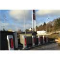 Tesla-lader åpnet på Statoil Haukås