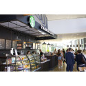 Starbucks har åpnet på BI i Oslo