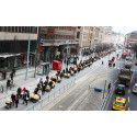 Barnvagnsmarschen mot mödradödlighet blir rekordstor