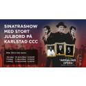 Årets julshow med julbord på Karlstad CCC – Wermland Opera, Sinatra och The Rat Pack