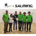 ​Salming - Official Partner of the Portuguese National Squash Federation.