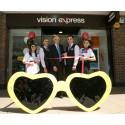 Macular Society unveils Vision Express store in Basingstoke during Macular Week 2015