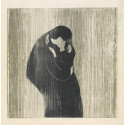 Edvard Munch, Kyss lV, 1902